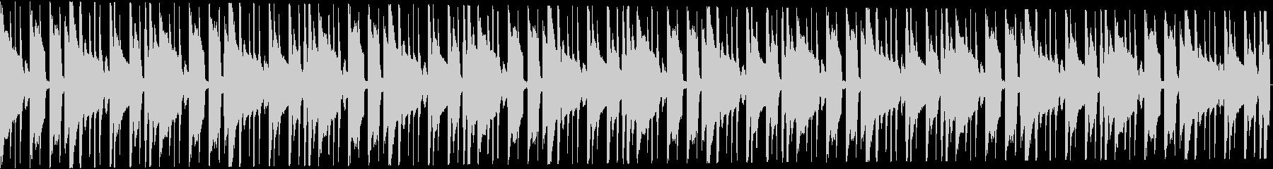 トロピカルなトラップビート16小節の未再生の波形