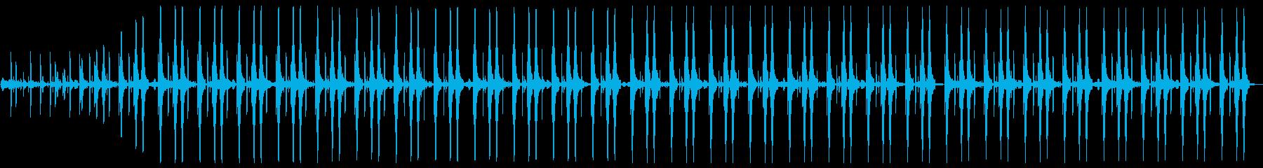 メロディーはありません。リズム曲です。の再生済みの波形