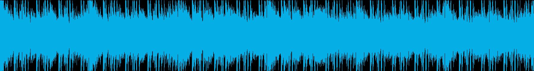 賑やかビッグビート SE無し ループの再生済みの波形