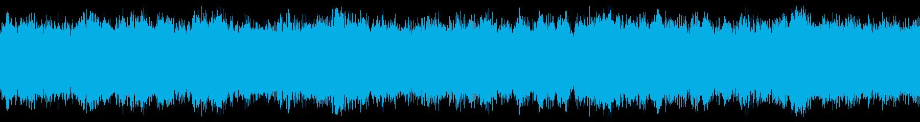 コーラス感の強い浮遊感のあるアンビエントの再生済みの波形