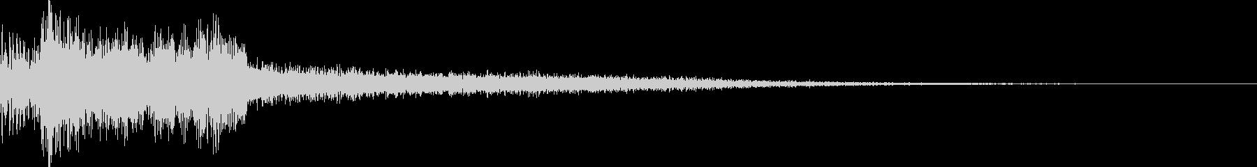 【ゲーム】 ダークSFX_19 ヒットの未再生の波形