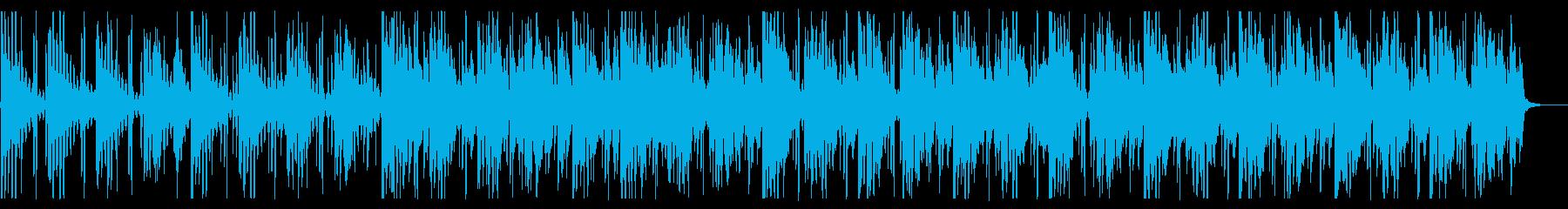 海/生演奏/R&B_No607_2の再生済みの波形