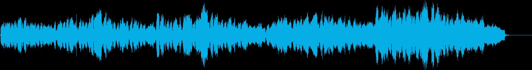 蛍の光【歌とオーケストラ伴奏】卒業の再生済みの波形