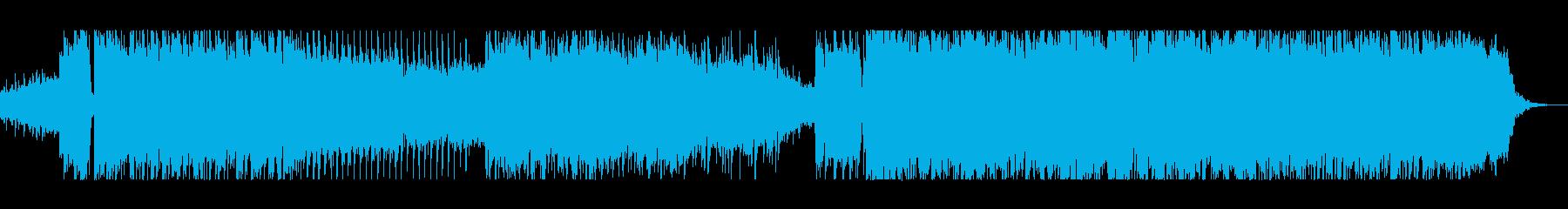 複雑な旋律が織りなす映像向けロックの再生済みの波形