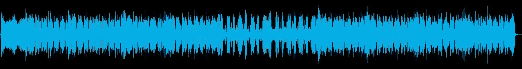 eSports サイバー ロックメロ無しの再生済みの波形