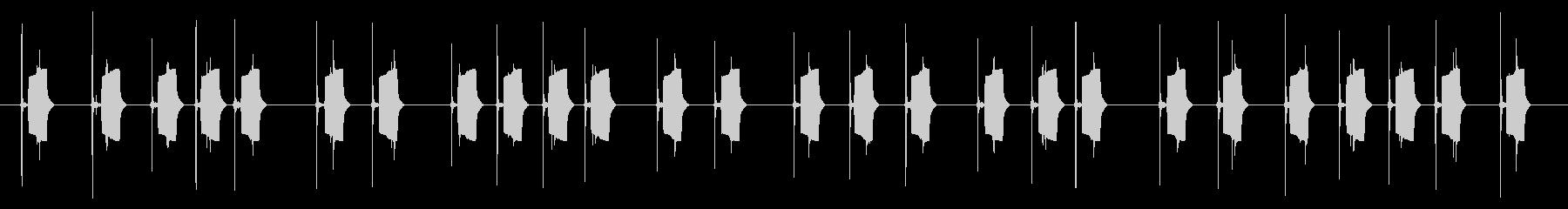 携帯電話 ハードウェア02-04(ボタンの未再生の波形