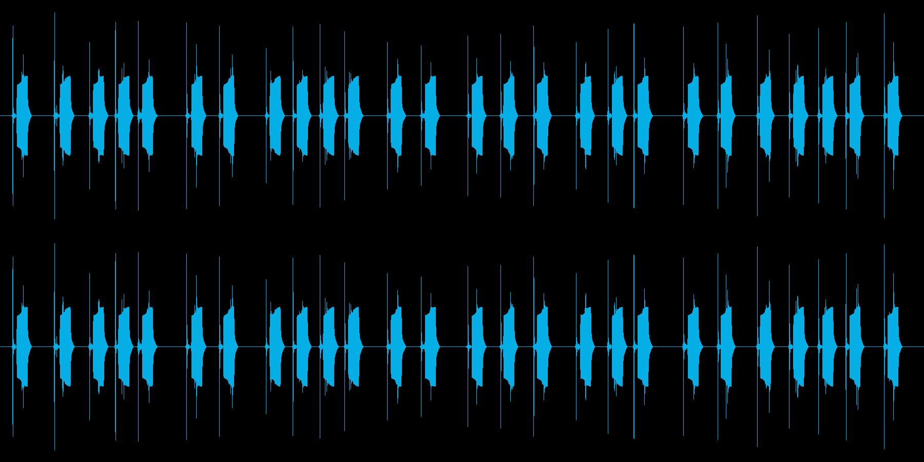 携帯電話 ハードウェア02-04(ボタンの再生済みの波形