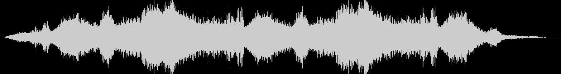ドローン ドップラー風01の未再生の波形