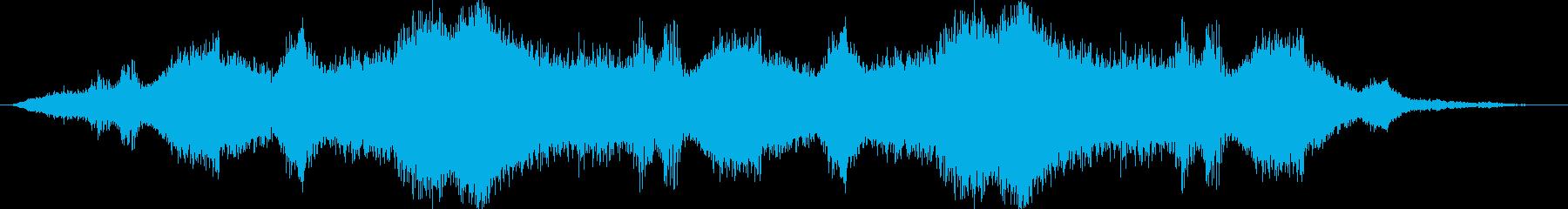 ドローン ドップラー風01の再生済みの波形