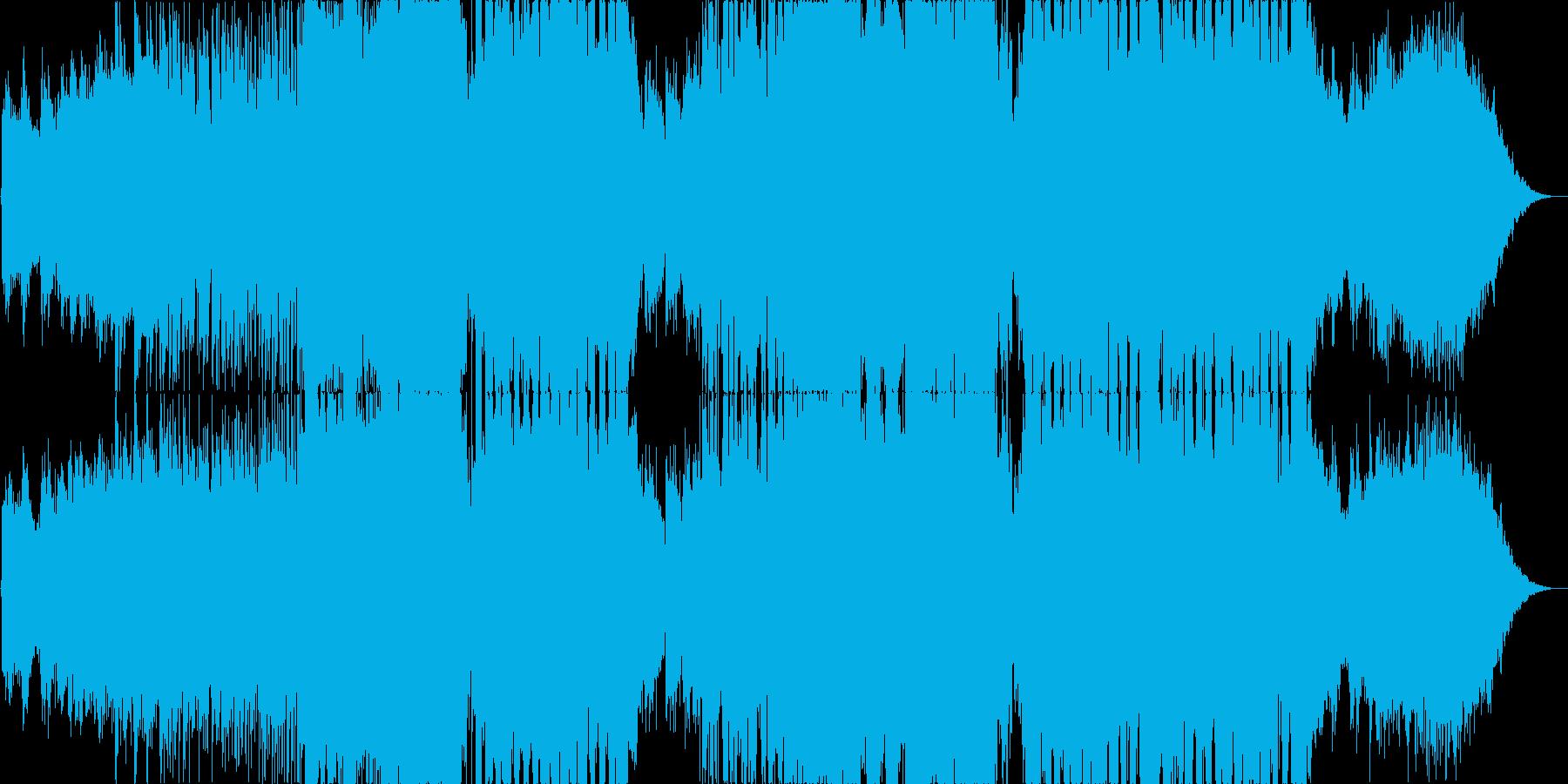 神秘的なギターインスト EDMの再生済みの波形