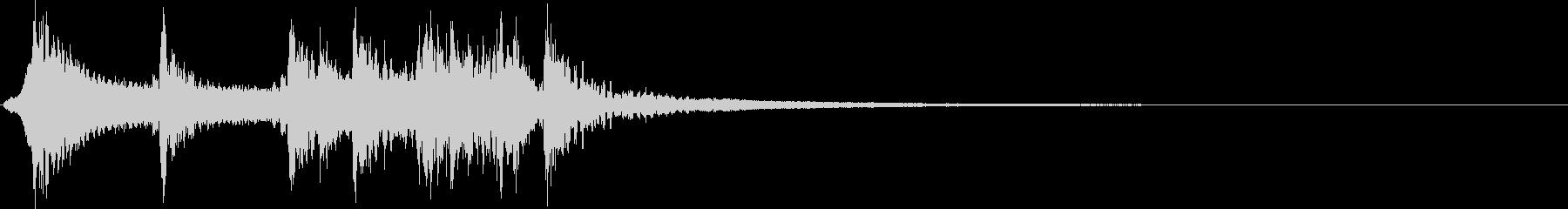 和楽器ジングル(尺八和太鼓)の未再生の波形