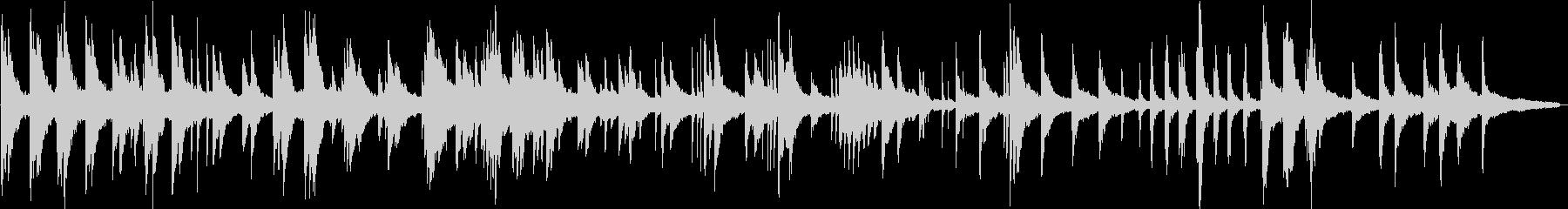 ヒーリングピアノ組曲 ただよう 10の未再生の波形