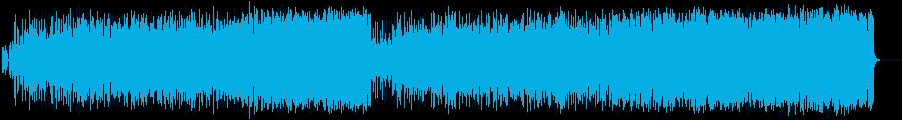 明るいオープニングポップ(フルサイズ)の再生済みの波形
