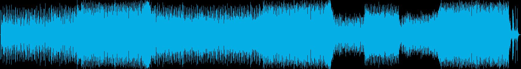 オルタナティブロックインスト。安定...の再生済みの波形