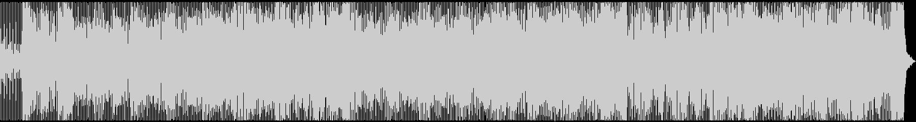 レトロでポップでキャッチーなディスコの未再生の波形