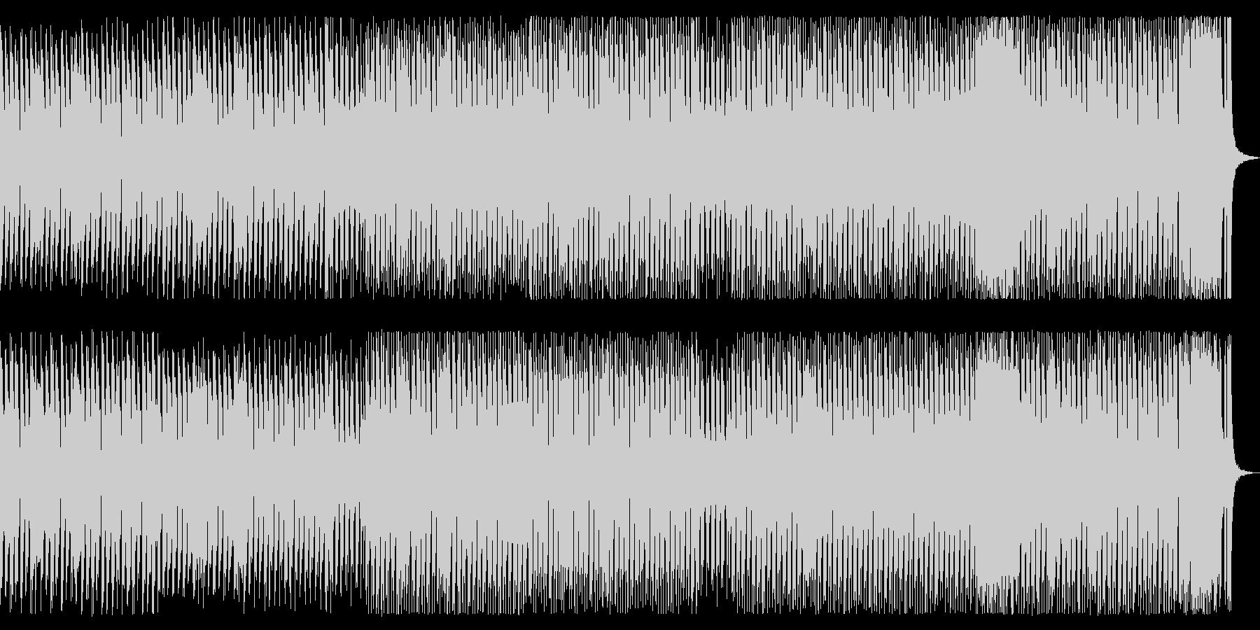 ブラスによる運動会的なBGMの未再生の波形