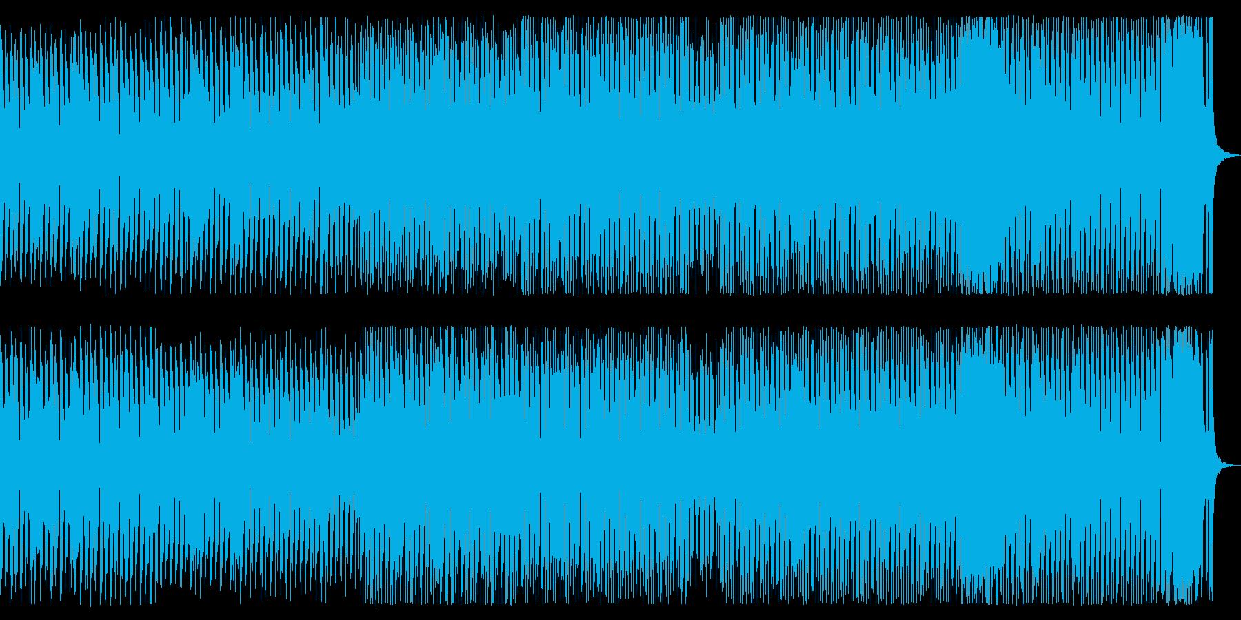 ブラスによる運動会的なBGMの再生済みの波形