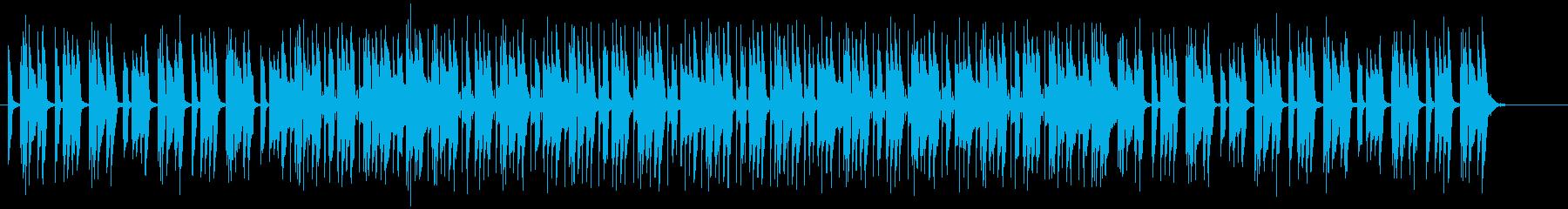 情感に訴えるエレクトリック・ポップの再生済みの波形