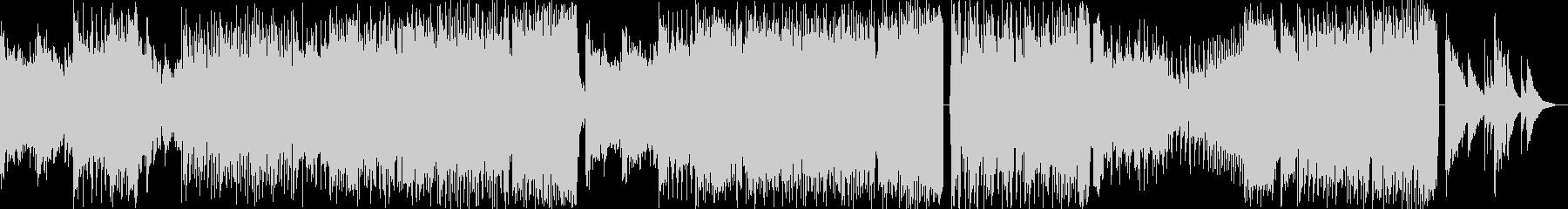 切ないアコギとピアノが印象的なEDMの未再生の波形