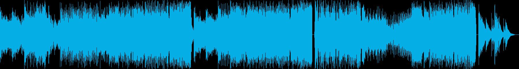 切ないアコギとピアノが印象的なEDMの再生済みの波形