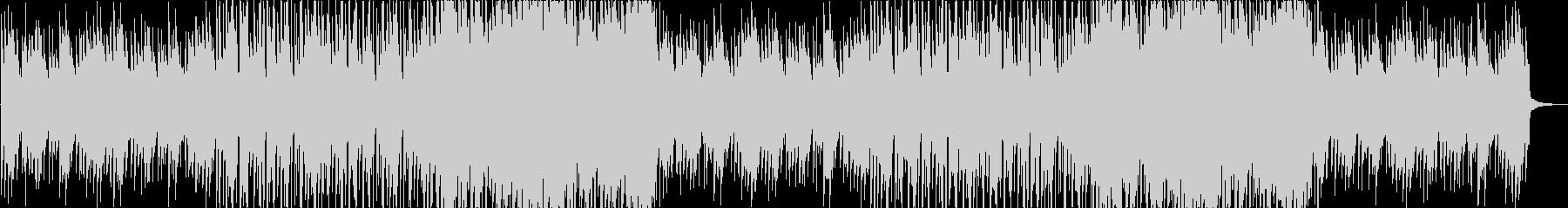 センチメンタルな秋のイメージがあるアコギの未再生の波形