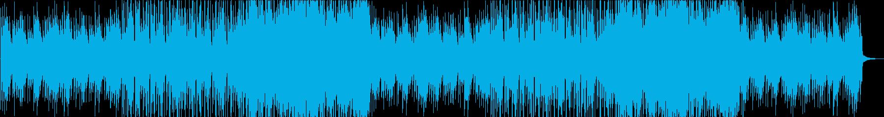 センチメンタルな秋のイメージがあるアコギの再生済みの波形
