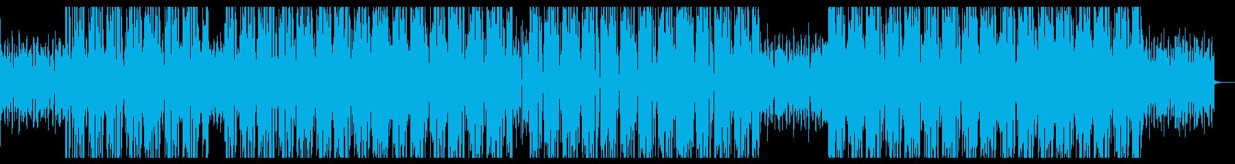 Lo-Fiビート_ファンキー_チルの再生済みの波形