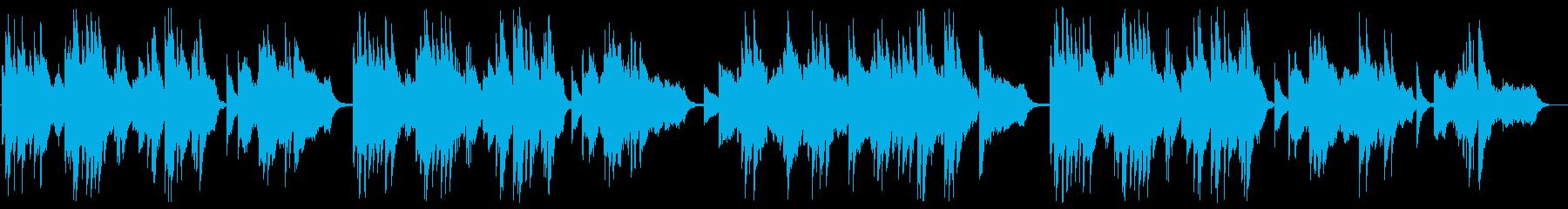 悲しめのジャズピアノの再生済みの波形