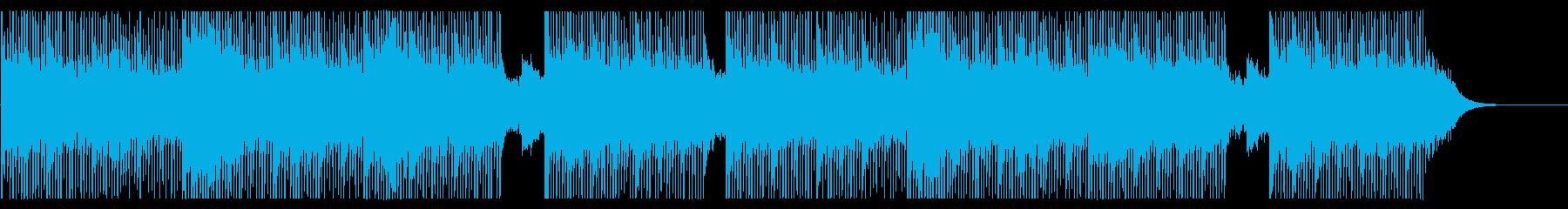 サスペンス 緊張感のあるエレクトロの再生済みの波形