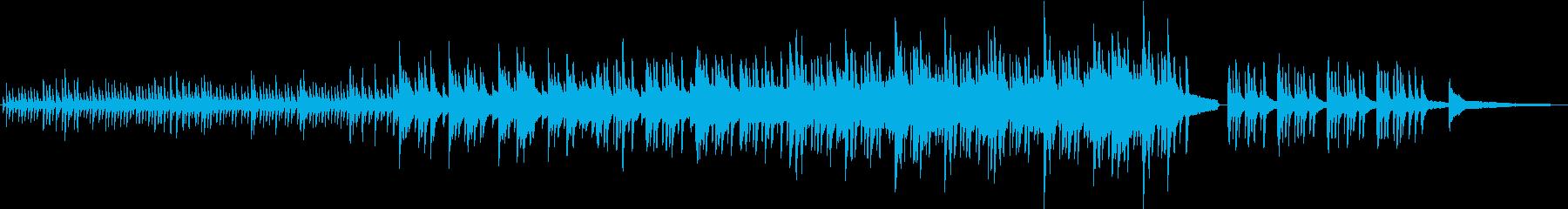儚くも美しいピアノによるソロバラードの再生済みの波形