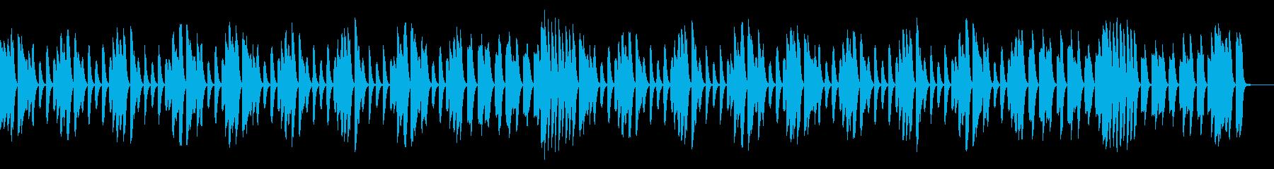 ほのぼのシーンのBGMにオススメの再生済みの波形