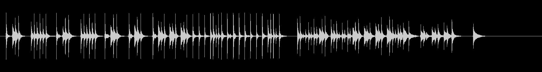 三味線122小鍛冶2合方稲荷山小狐丸刀剣の未再生の波形