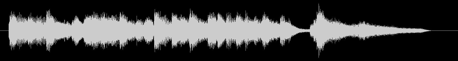 ジングル ピアノソロ さわやかバラードの未再生の波形
