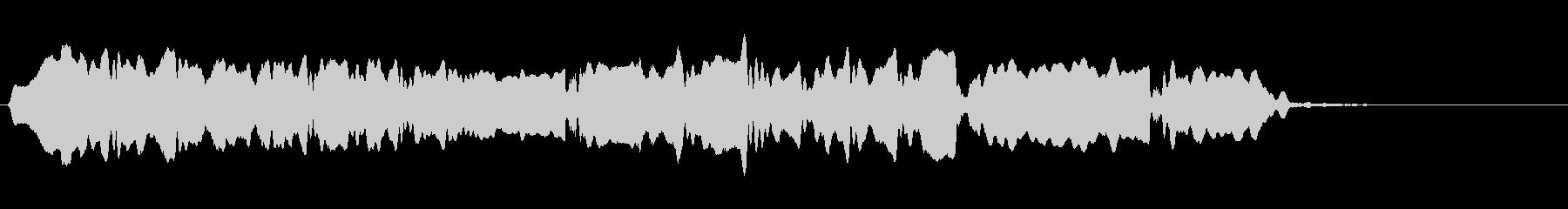 音侍SE「尺八フレーズ1」エニグマ音12の未再生の波形