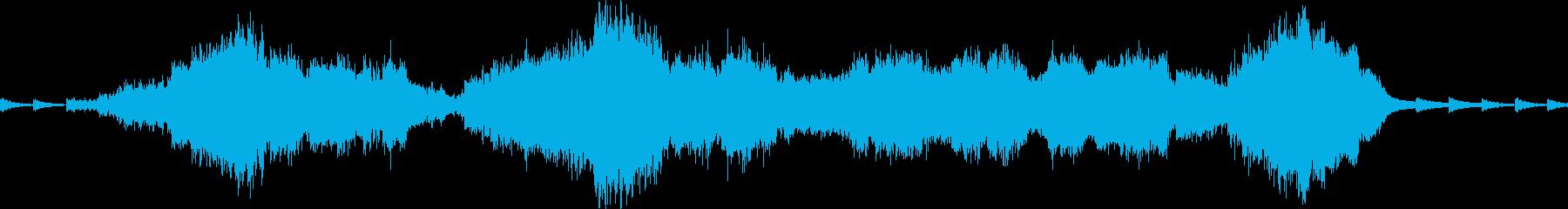 ダーク、ミステリアス、サントラの再生済みの波形