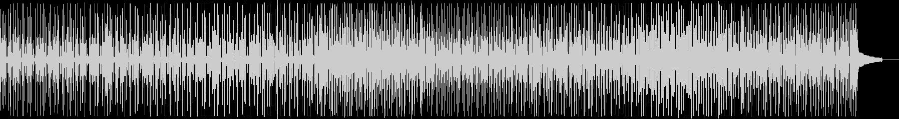 コミカルなファンキーオルガン:メロディ抜の未再生の波形