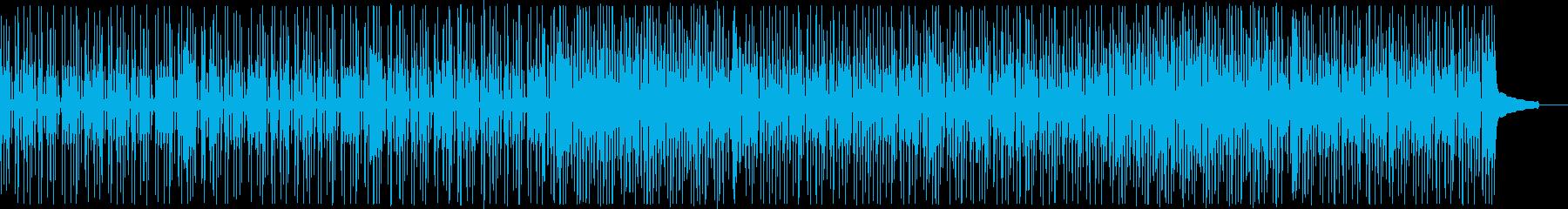 コミカルなファンキーオルガン:メロディ抜の再生済みの波形