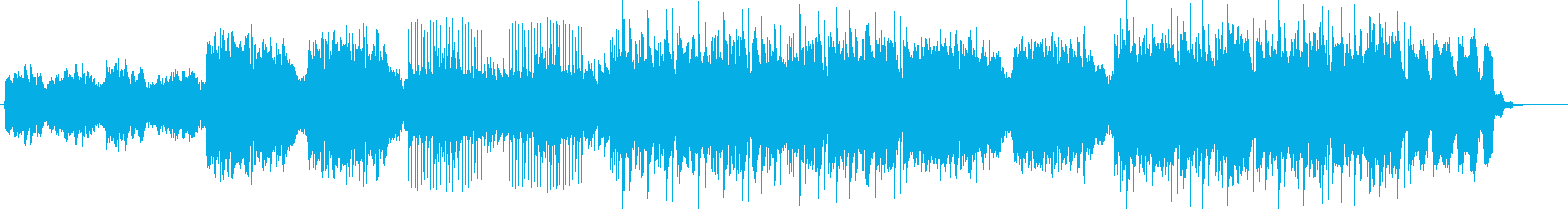 ♰DARK、HORROR、不気味な作曲♰の再生済みの波形