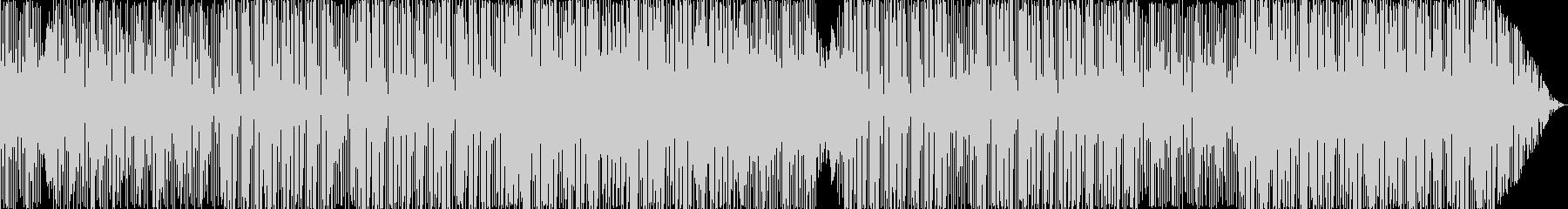 トロピカルで楽しいEDM/エスニック風の未再生の波形