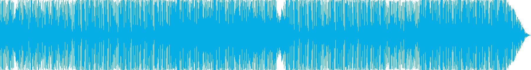 トロピカルで楽しいEDM/エスニック風の再生済みの波形