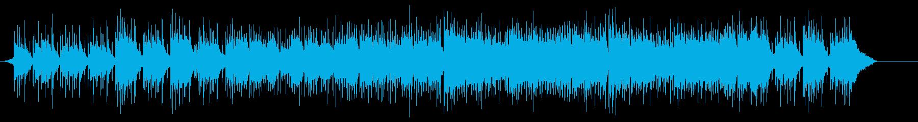スタイリッシュなポップスの再生済みの波形