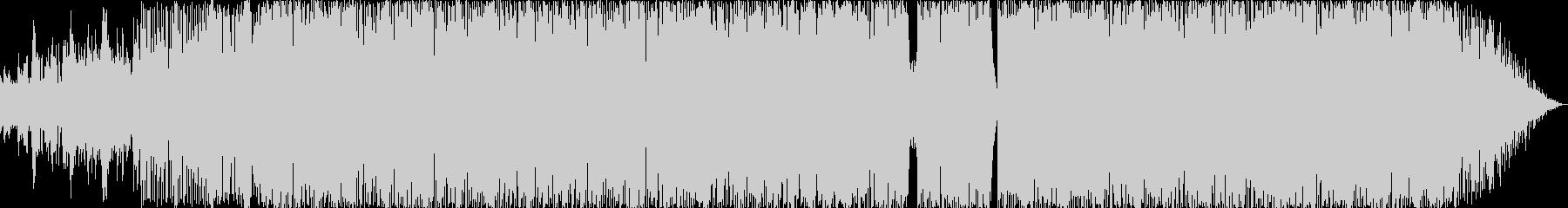 オルガンソウルハウスの未再生の波形