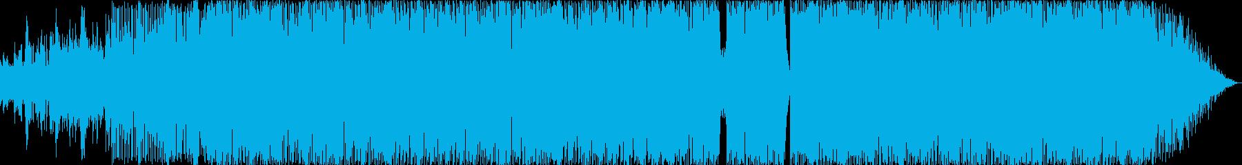 オルガンソウルハウスの再生済みの波形