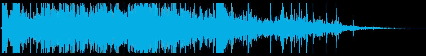 ソーシングメタル、ストライク、チャ...の再生済みの波形