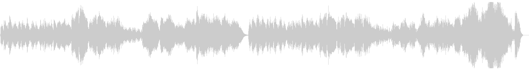 Orchestral classic pops's unreproduced waveform