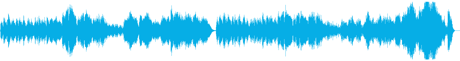 Orchestral classic pops's reproduced waveform