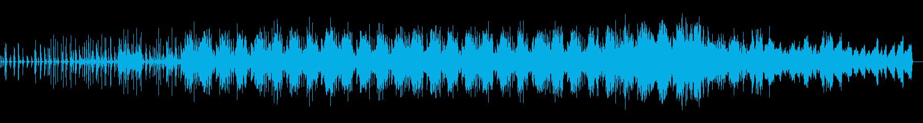 木琴、ピアノ、テルミン、アンビエントの再生済みの波形