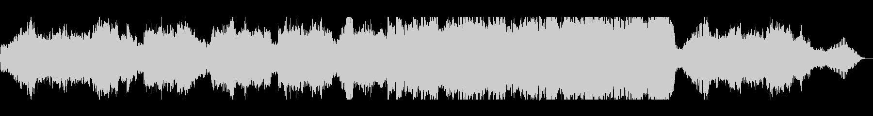 バイオリンとピアノのプレリュードの未再生の波形