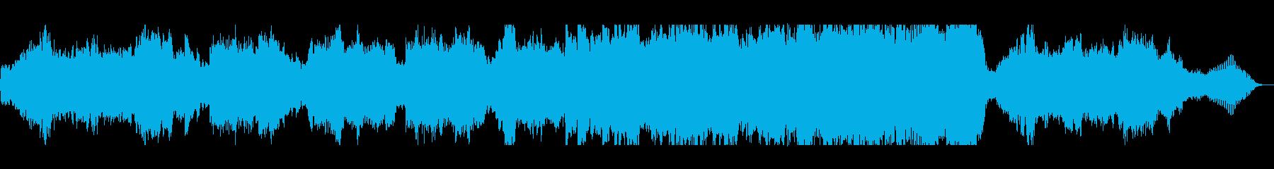 バイオリンとピアノのプレリュードの再生済みの波形