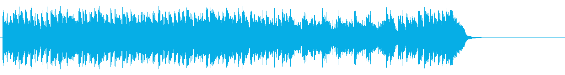海を思う爽快フュージョン(サビ~イン…)の再生済みの波形